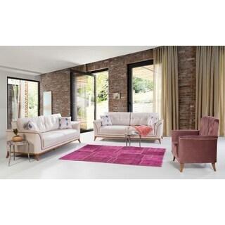 Perla Furniture's Terra Collection Euro-Americana style chic living room sofa