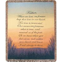 Manual Woodworkers Forever A Father Multicolor Tapestry Throw