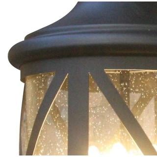 Y-Decor Taysom 4 Light Exterior light in Black Finish