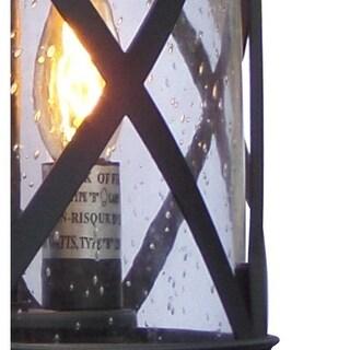 Y-Decor Taysom 2 Light Exterior light in Black