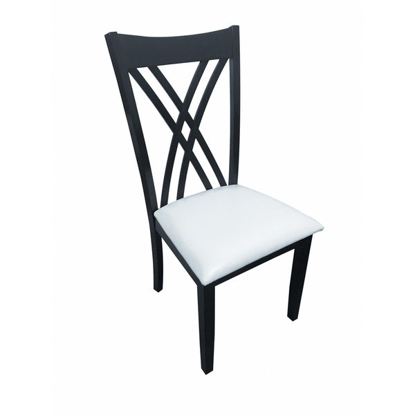 Maya Dining Chair in Cappuccino (Set of 2)  sc 1 st  Overstock.com & Shop Maya Dining Chair in Cappuccino (Set of 2) - Free Shipping ...