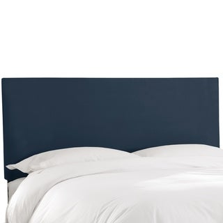 Skyline Furniture Tufted Headboard in Micro-suede