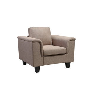 Kinnect York Solid-colored Wood/Fabric Chair