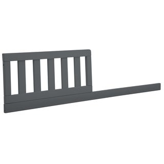 Delta Children Daybed/Toddler Guardrail Kit 555725, Charcoal Grey