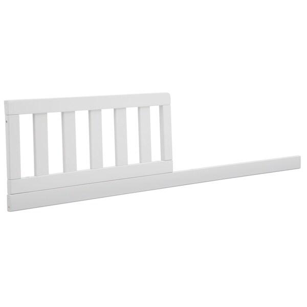 Delta Children Daybed/Toddler Guardrail Kit 555725, Bianca White