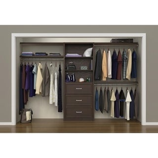 "ClosetMaid SpaceCreations 56"" - 127"" Closet Organizer Kit"