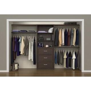 "ClosetMaid SpaceCreations 56"" - 127"" Closet Organizer Kit"