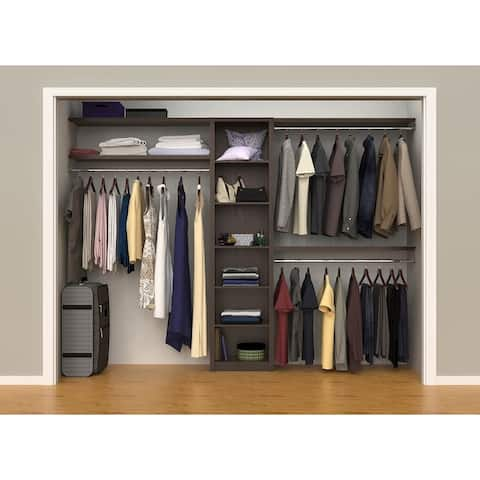 "ClosetMaid SpaceCreations 44"" - 115"" Closet Organizer Kit"