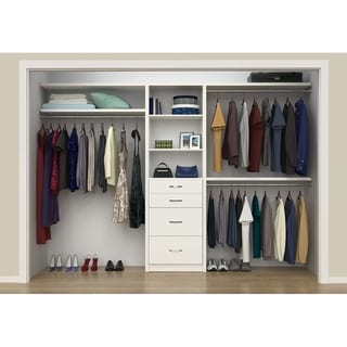 "ClosetMaid SpaceCreations 50"" - 121"" Closet Organizer Kit"