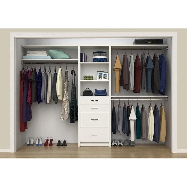 Shop Closetmaid Spacecreations 50 Quot 121 Quot Closet Organizer