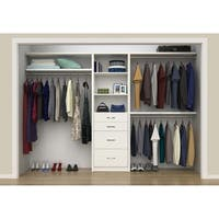 "ClosetMaid SpaceCreations 50"" - 121"" Closet Organizer Kit"
