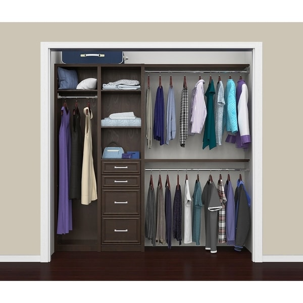 "ClosetMaid SpaceCreations 52"" - 87"" Closet Organizer Kit"