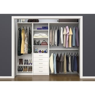 "ClosetMaid SpaceCreations 64"" - 99"" Closet Organizer Kit"