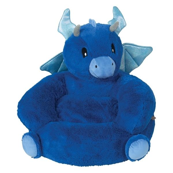 Trend Lab Childrenu0026#x27;s Plush Dragon Character Chair