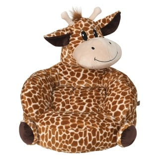 Trend Lab Children's Plush Giraffe Character Chair