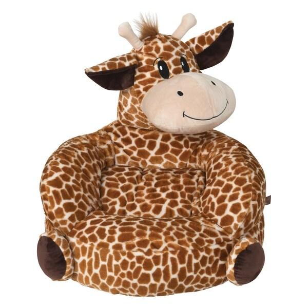 Trend Lab Children's Plush Giraffe Character Chair