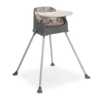 Delta Children Perfect Fit Multi-Use High Chair, Grey