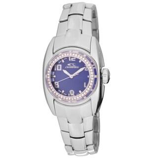Chronotech Women's Quartz Crystal Stainless Steel Bracelet Watch