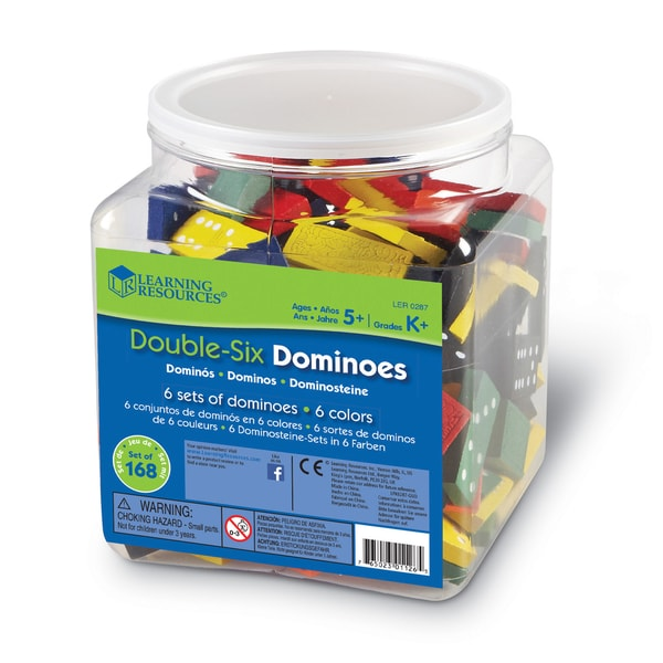 Learning Resources Double-Six Dominoes
