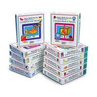 Didax Basic Reading Skills Complete Set, 11 Puzzles