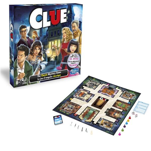Hasbro Clue Game