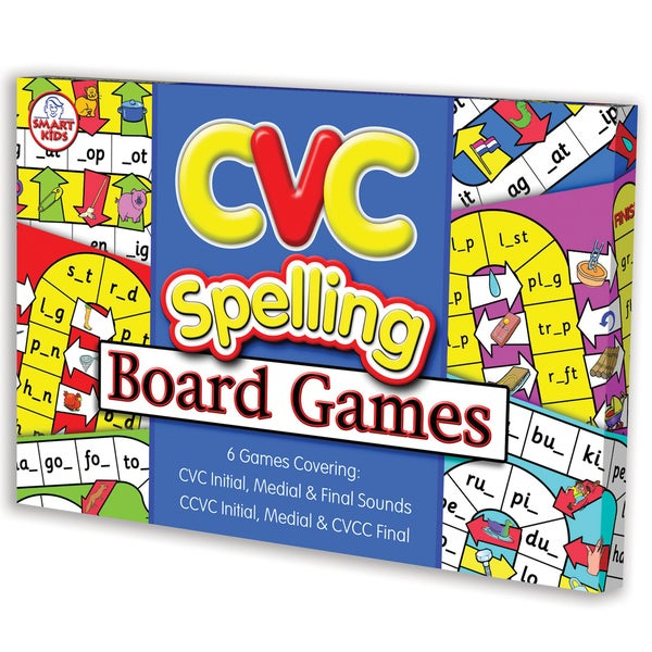 Didax CVC Spelling Board Game