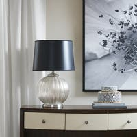 Madison Park Signature Soiree Silver Table Lamp