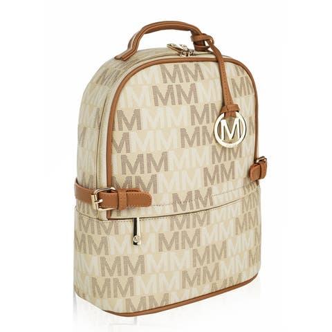 MKF Collection Cleo M Signature Trendy Backpack by Mia K.