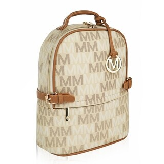 MKF Collection by Mia K Farrow Cleo M Signature Trendy Backpack (2 options available)