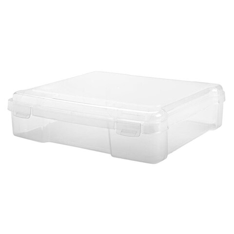 IRIS 8-inch x 8-inch Portable Project Case, 6 Pack, Clear
