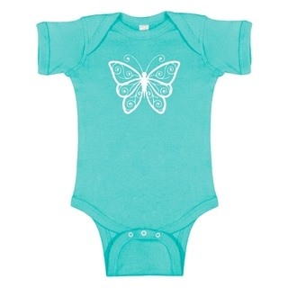 Rocket Bug Butterfly Baby Bodysuit