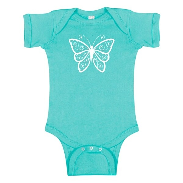 Rocket Bug Butterfly Baby Bodysuit