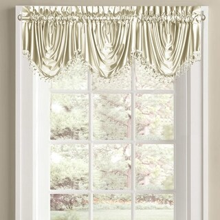 Five Queens Court Shalamar Festoon Window Valance with Rod Pocket