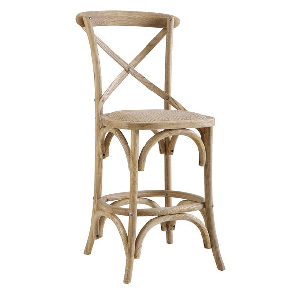Delilah Washed Bar Stool by Linon