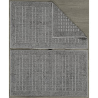AZK Luxury Turkish Cotton 20x31-inch Bath Mat (set of 2)
