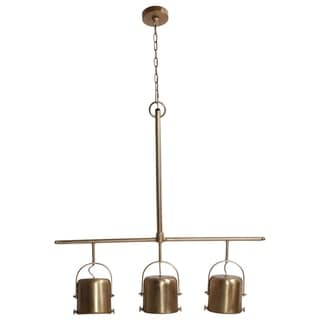 Renwil Urban Brass Plated Ceiling Fixture