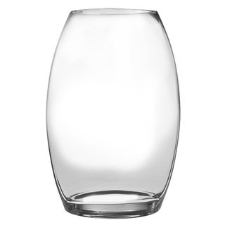 Majestic Gifts Inc. European High-quality Lead-free Glass Oval Vase