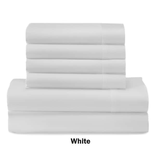 Sonnet Collection 800 Thread Count Cotton Rich 6 Piece Sheet Set