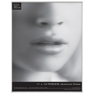 MCS Industries Fineline Silvertone Metal/Glass 11-inch x 14-inch Picture Frame