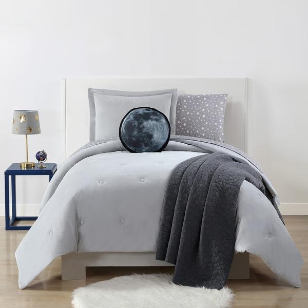 My World Velvet Plush with Jersey Reverse 3-piece Comforter Set
