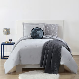 My World Velvet Plush with Jersey Reverse 3-piece Comforter Set