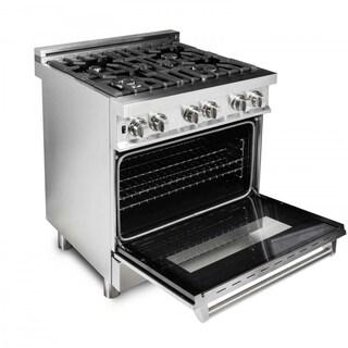 ZLINE 30 in. 4.0 cu. ft. 4 Gas Burner/Electric Oven Range (RA30)
