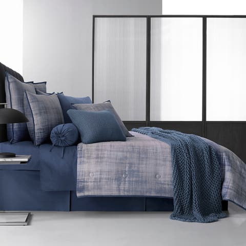 Five Queens Court Tristan Twill Cotton Duvet Cover