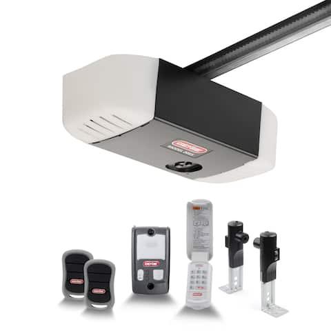 Genie SilentMax 550 ½ HPc Belt Drive ultra Quiet Garage Door Opener with added Wireless Keypad, Model 2055-TKZV