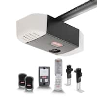Genie Chain Drive 550 ½ HPc Garage Door Opener with Added Wireless Keypad
