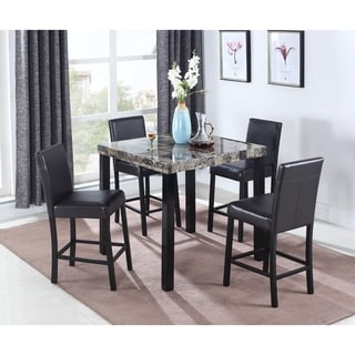 Best Master Furniture CD037 5 Piece Counter Height Set