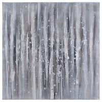 Yosemite Home Decor 'Strokes in Neutral' Original Hand-Painted Wall Art