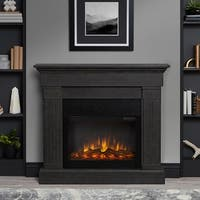 Crawford Electric Fireplace Gray by Real Flame