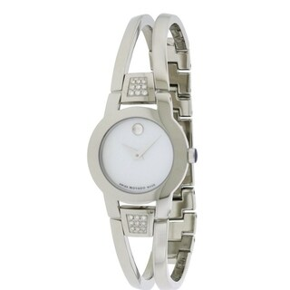 Movado Amorosa Stainless Steel Ladies Watch 0606617