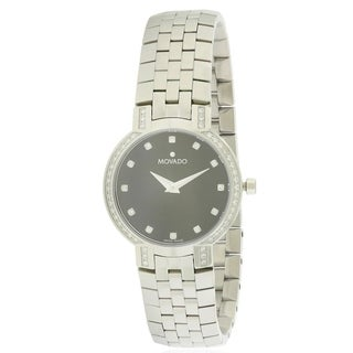 Movado Faceto Diamond Ladies Watch 0605586